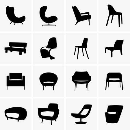 furniture design: Modern armchairs
