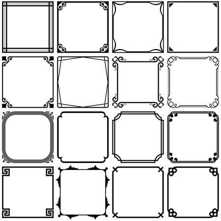 Cadres simples Banque d'images - 31405106