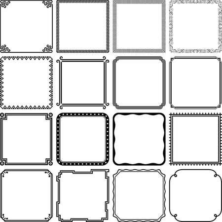 Frames illustration 免版税图像 - 31811933