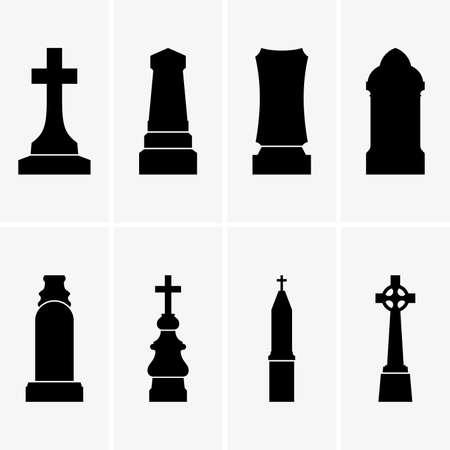 Gravestones illustrations