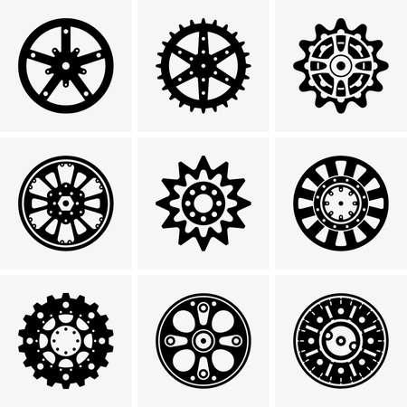 sprocket: Sprocket wheels