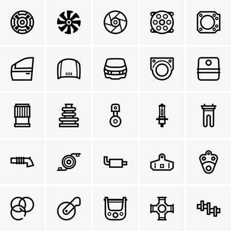 piezas coche: Recambios iconos