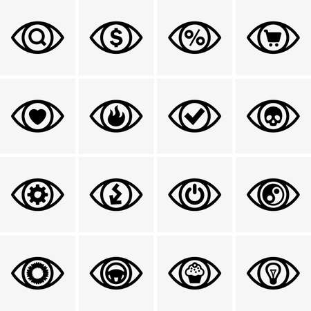 pacification: Expressions in the eyes Illustration