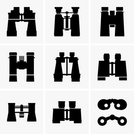 Binoculars Illustration