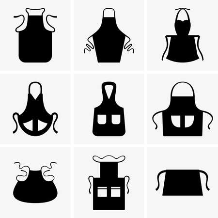protective apron: Aprons