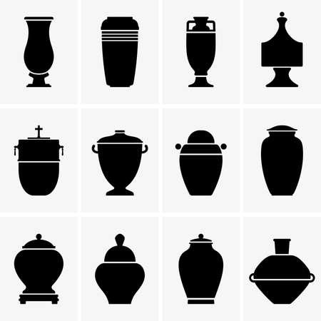 Urne cremazione Archivio Fotografico - 39208464