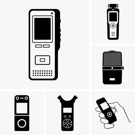 Dictaphones Vector