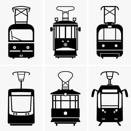trams: Trams Illustration