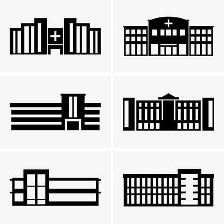 edificio industrial: Hospitales Vectores