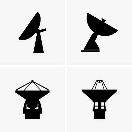 parabolic: Radio telescopes