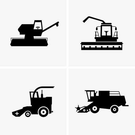combine: Combine harvesters Illustration