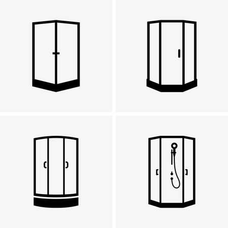 cabine de douche: Cabines de douche