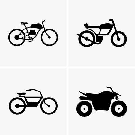 motorbike: Hybrid bikes and atv
