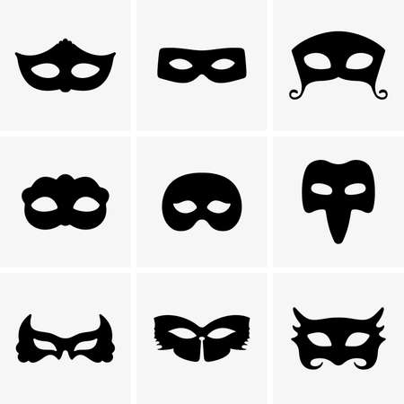 mystery: Festive masks Illustration