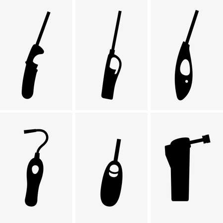 gas lighter: Gas lighter guns