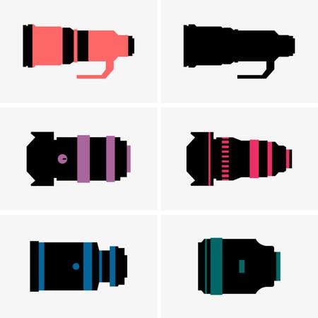 slr camera: Camera lens