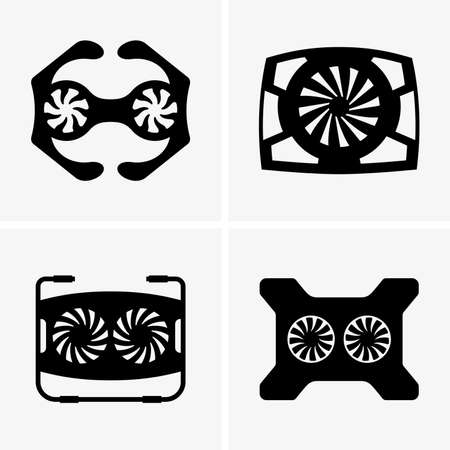 personal accessories: Cooling pads Illustration