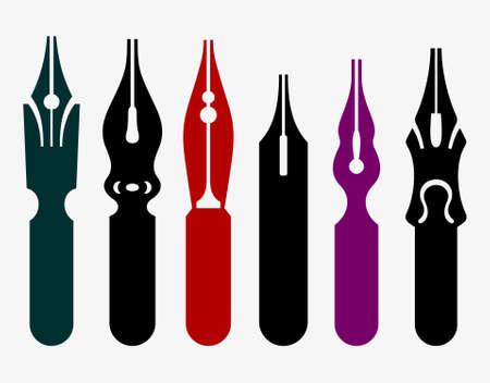 nib: Pen nibs Illustration