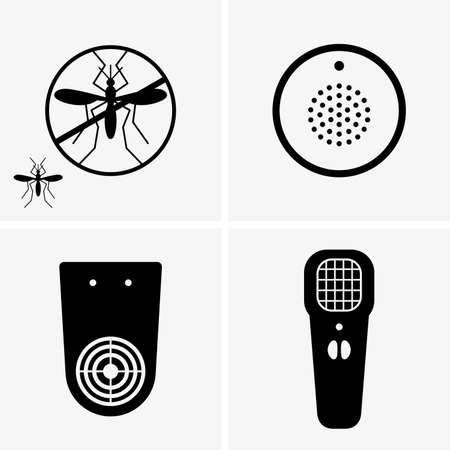 infect: Electric mosquito repellent Illustration