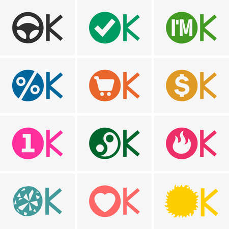 check symbol: Okay icons