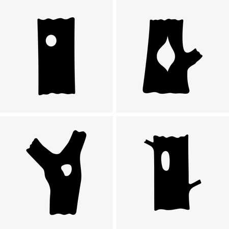 hollows: Tree hollows Illustration