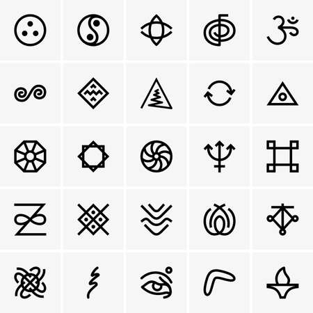 karma: Karma icons