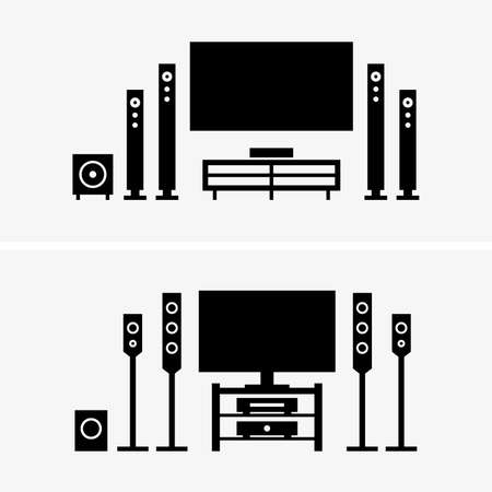 surround system: Home theater shade pictures