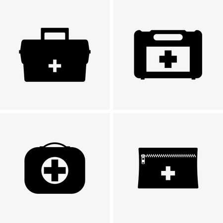 kits: First aid kits Illustration