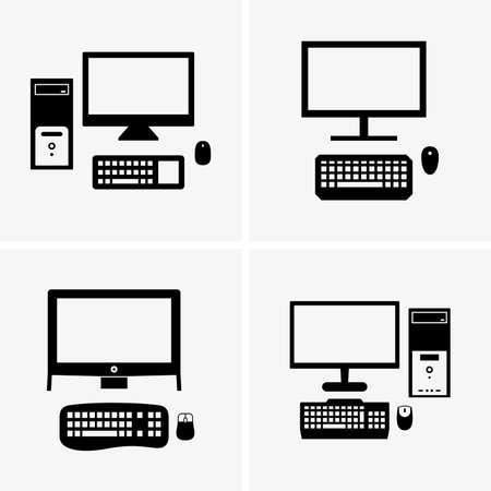 desktops: Desktop computers