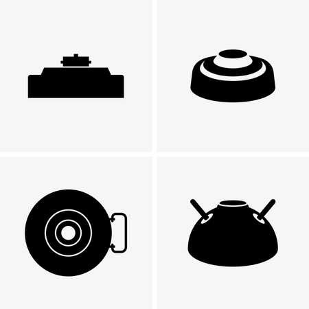Land mines Illustration