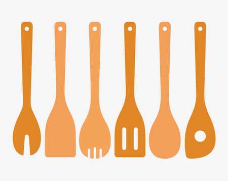 utensili da cucina di bambù
