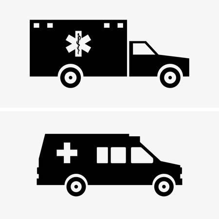 ambulances: Ambulances Illustration