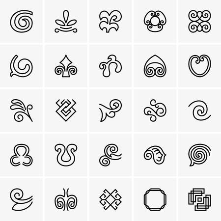 icons: Decoration icons