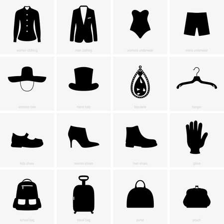 bijouterie: Clothes objects shade pictures