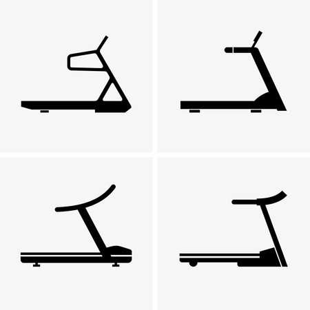 aerobic training: Treadmills shade pictures