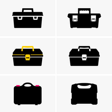 Boîtes à outils ombre images Banque d'images - 53598962