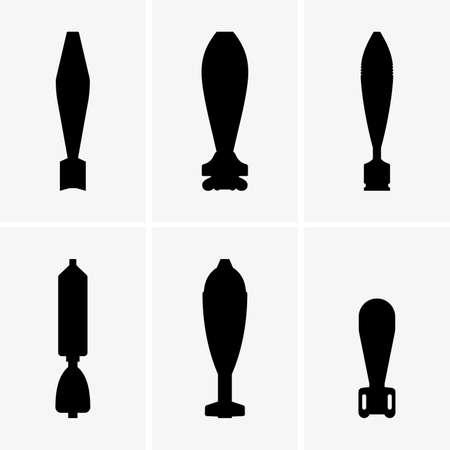 mortar: mortar shells