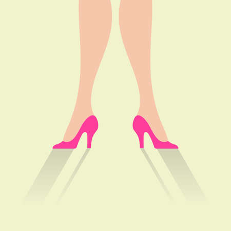 woman legs: Woman legs background