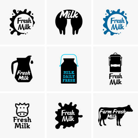 yogurt: Fresh milk signs
