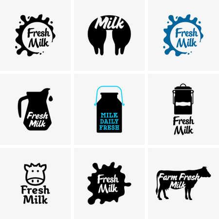udder: Fresh milk signs