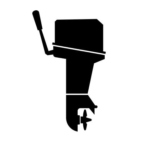 outboard: Outboard boat motor, shade pictures