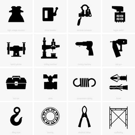 objects: Industrial objects, shade pictures