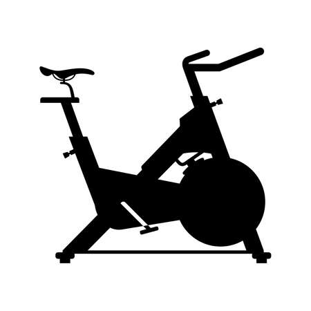 exercise equipment: Stationary bicycle, shade picture