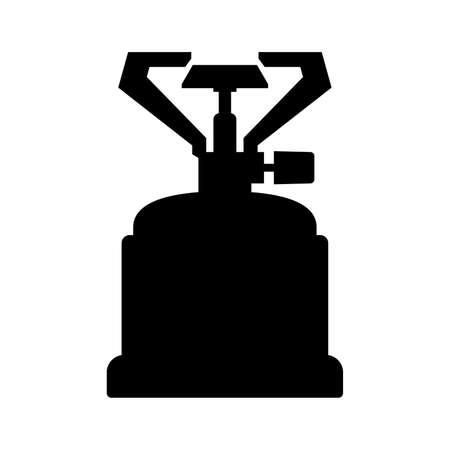 travel burner: Portable gas burner, shade picture