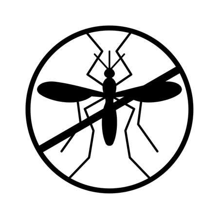 no mosquito: No mosquito sign
