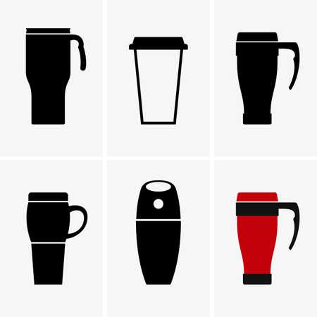 mug: Coffee travel mug, shade pictures