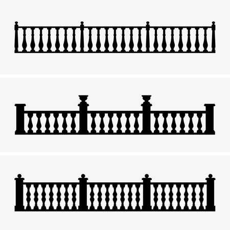 Balustrade, shade pictures