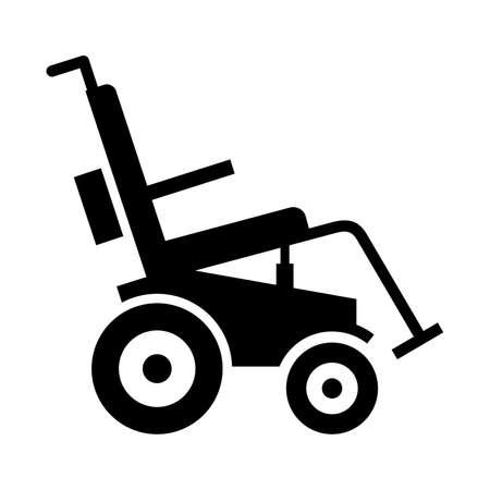 MOTORIZADO: Motorizada silla de ruedas eléctrica, cortina cuadro