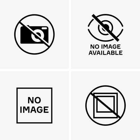 no image: No image available signs