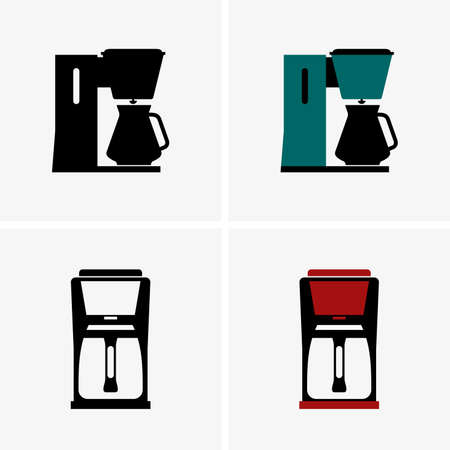 thermal: Thermal carafe coffee makers, shade pictures Illustration